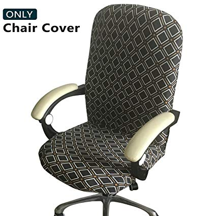Amazon.com: Melaluxe Office Chair Cover - Universal Stretch Desk