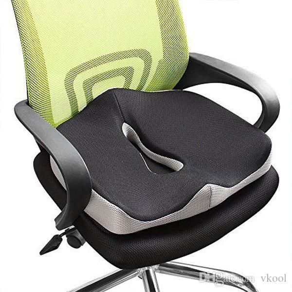 Comfort Memory Foam Seat Cushion Coccyx Orthopedic Office Chair Car