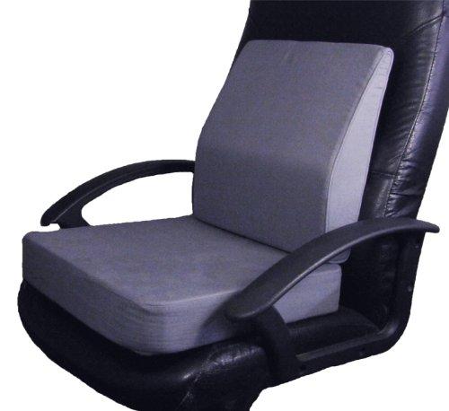 Amazon.com: Extra Thick Memory Foam Dual Layer Seat Cushion + Memory