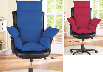 Extra Support Cozy Chair Cushion from Collections Etc.