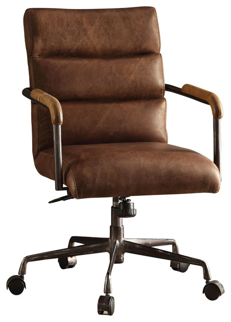 Antonio Leather Executive Office Chair - Industrial - Office Chairs