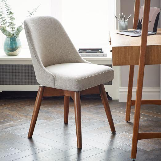 Mid-Century Swivel Office Chair | west elm