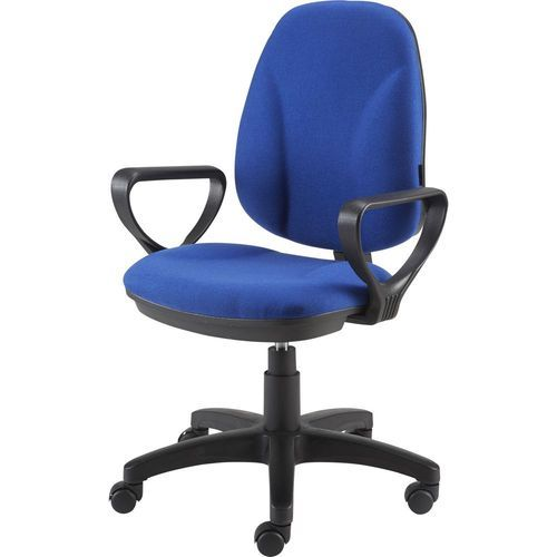 Microfiber Seat Blue Office Chair, Rs 7500 /piece, Sonal Interior