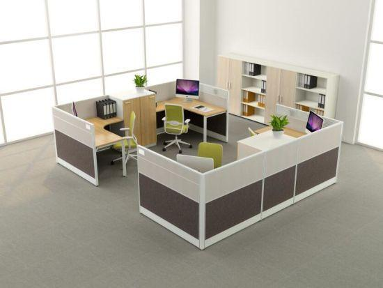 Modern Office Cubicles 5'x5' - 6 pack - Freedman's Office Furniture