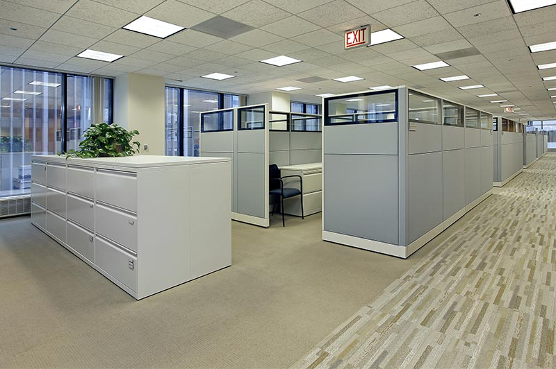 Cleaning the Office Cubicles' Walls Regularly is Vital for Keeping