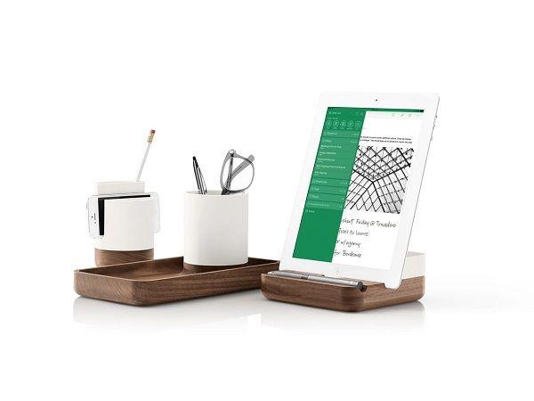 Mid-Century Office Accessories : minimalist desk accessories