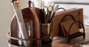 Printer's Home Office Desk Accessories | Pottery Barn