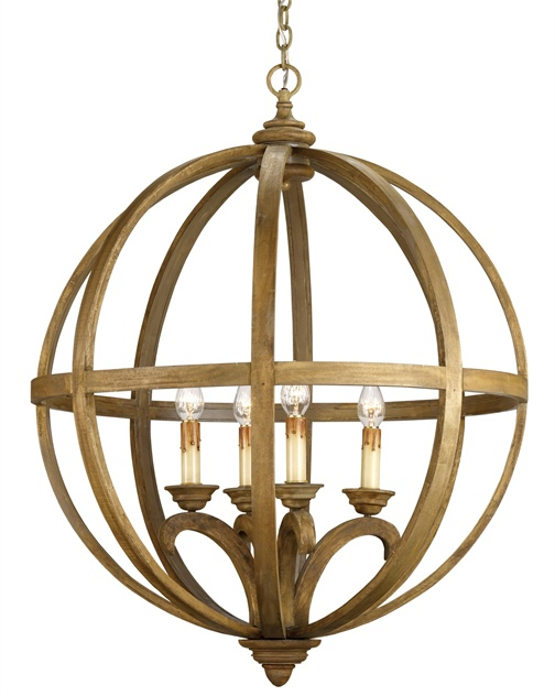 Axel Orb Chandelier Large - Cottage & Bungalow