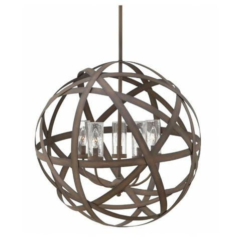 Carson Outdoor Chandelier by Hinkely Lighting | Lighting Connection