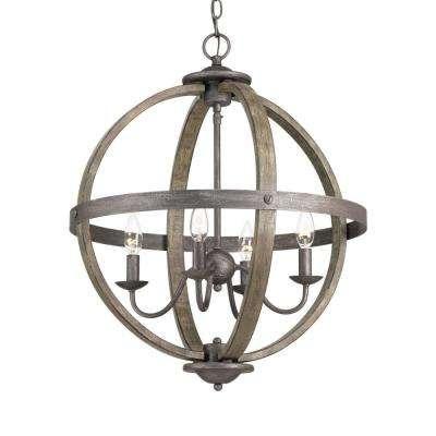 Globe - Chandeliers - Lighting - The Home Depot