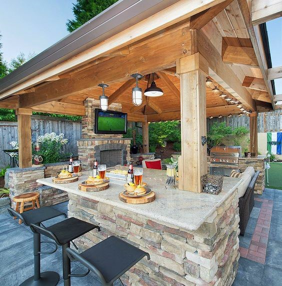 Celebrate your day in luxurious outdoor bars u2013 CareHomeDecor