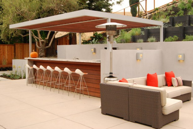 Creative Outdoor Bars: 17 Amazing Deck Design Ideas - Style Motivation