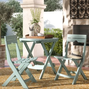 Dining in the garden using outdoor Bistro   set