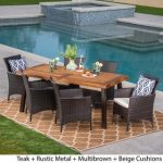 Enjoying the outdoors with the outdoor   dining set