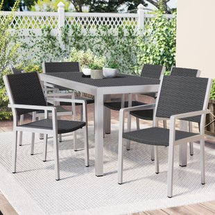 Modern Wicker/Rattan Outdoor Dining Sets | AllModern