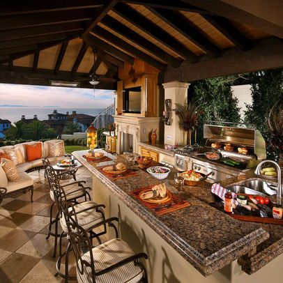 30 Fascinating Outdoor Kitchens | Back Yard ideas & Decorations