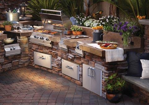 Outdoor Kitchen Designs & Planning : BBQ Guys