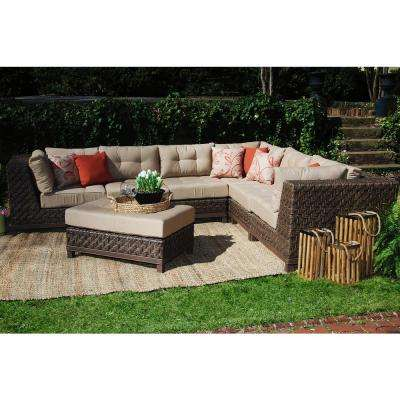 AE Outdoor - Wicker Patio Furniture - Cushions included - Outdoor