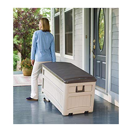 Amazon.com : Plow & Hearth Large Outdoor Storage Box : Outdoor