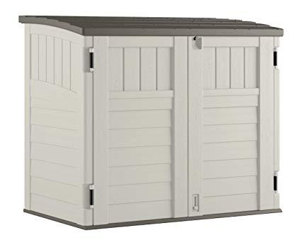 Amazon.com : Suncast Horizontal Storage Shed - Outdoor Storage Shed