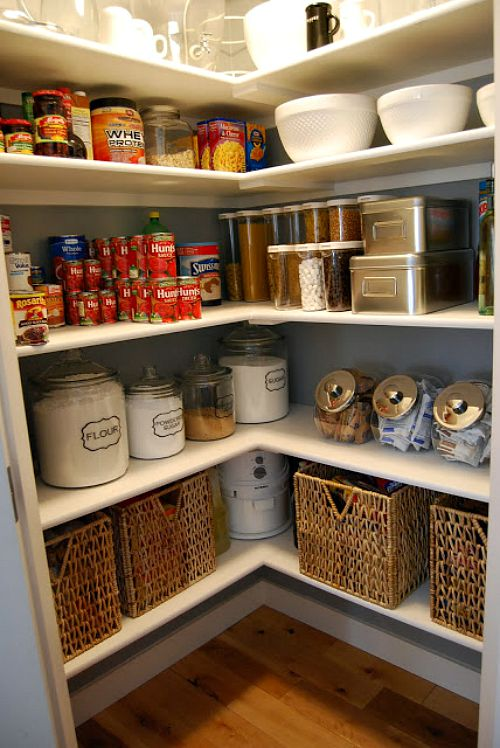 10 Pretty Pantry Organization Ideas