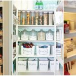 Well planned pantry organization in   kitchen?