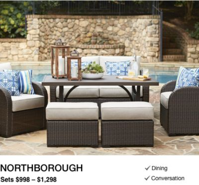 Shop Patio Furniture Conversation Collections at Lowe's
