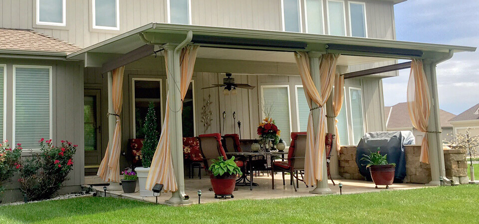 Get an attractive look of your house with   Patio