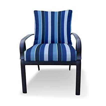 Amazon.com : Thomas Collection Outdoor Cushions, Cobalt Blue Patio