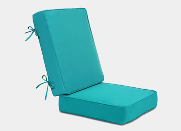 Feel comfortable over Patio cushions
