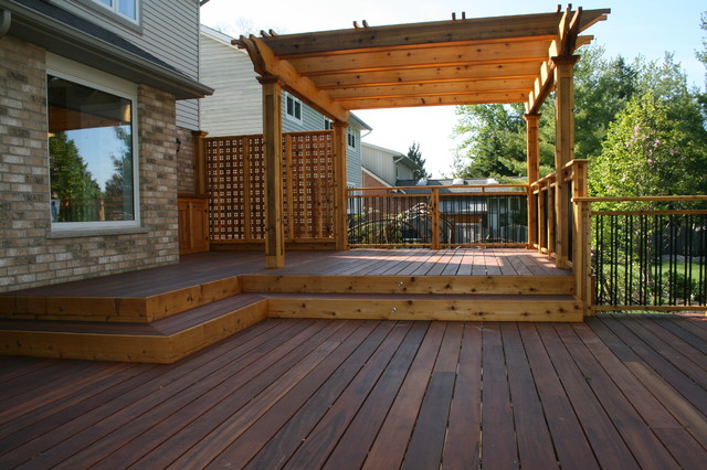 Garden Decks - Contemporary - Patio - Toronto - by JWS Woodworking