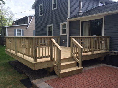 Deck Builders Rochester NY | Deck/Patio Contractor