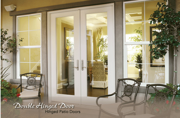 Double Hinged Doors - Neuma Doors - Manufacturer of fiberglass patio