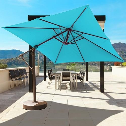 10' x 10' Cantilever Offset Patio Umbrella | iPatioUmbrella.com