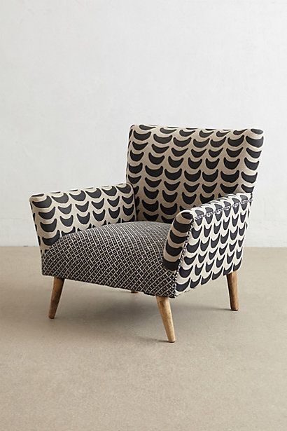 Bangala Armchair | - h o m e - | Pinterest | Patterned armchair