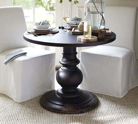Dawson Pedestal End Table | Pottery Barn