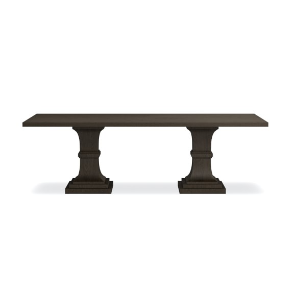 Double Pedestal Rectangular Dining Table | Williams Sonoma