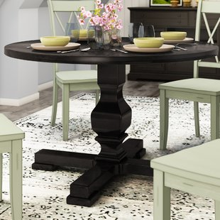 24 Inch Round Pedestal Table | Wayfair