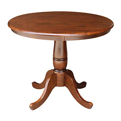 Amazon.com - International Concepts 36-Inch Round Pedestal Table, 30