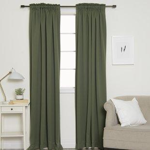Pencil Pleat Curtains | Wayfair