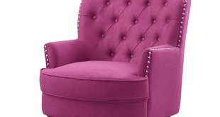 Pink Accent Chairs You'll Love | Wayfair