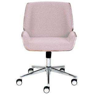 Modern & Contemporary Blush Pink Office Chair | AllModern