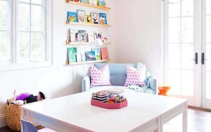 50+ Incredibly Creative Playroom Furniture and Décor Ideas