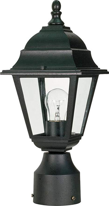 Amazon.com : Nuvo Lighting 60/548 One Light Lantern Post Mount