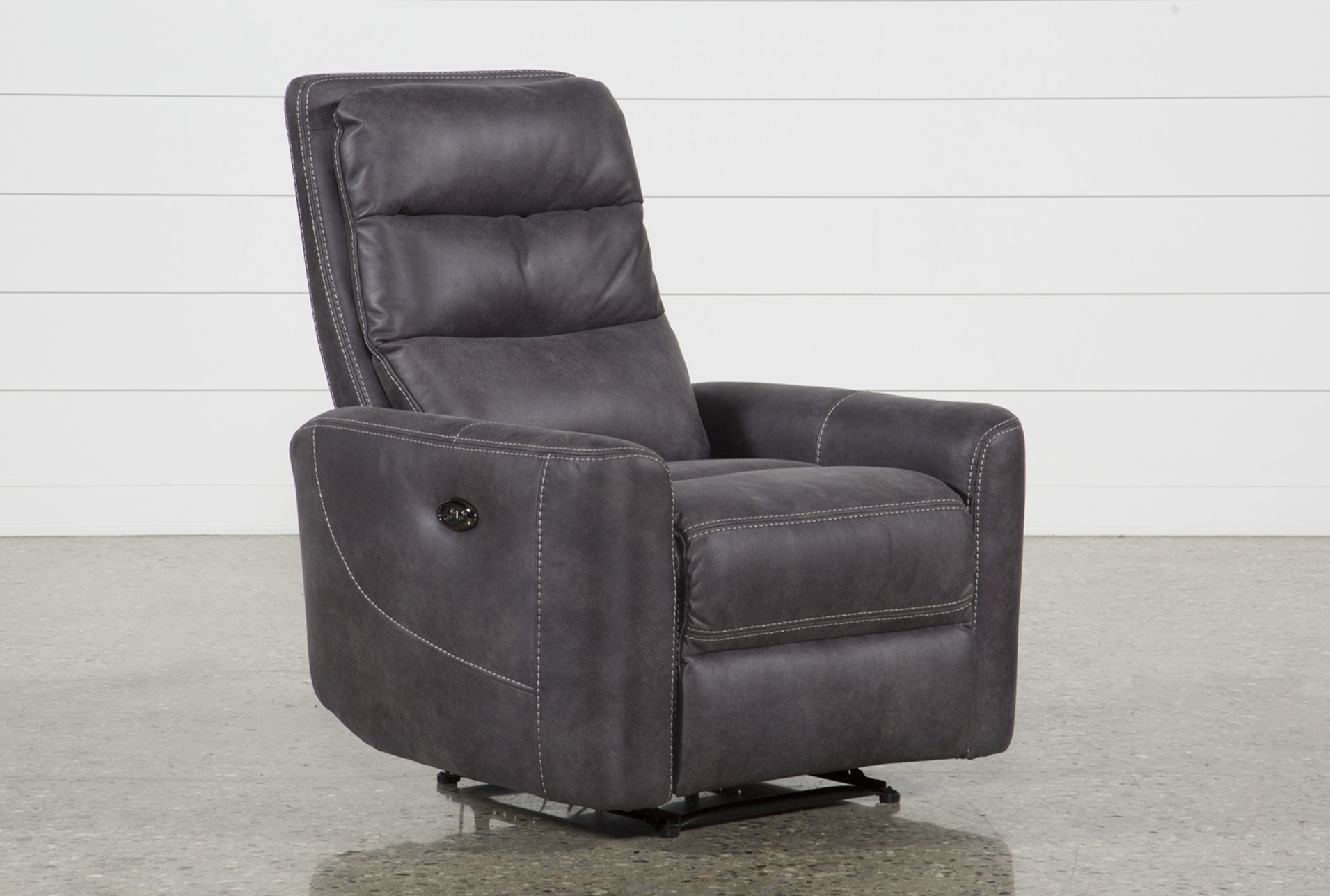 Malia Power Recliner With Usb | Living Spaces