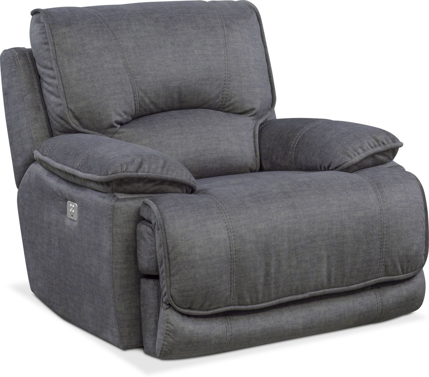 Mario Power Recliner | Value City Furniture and Mattresses