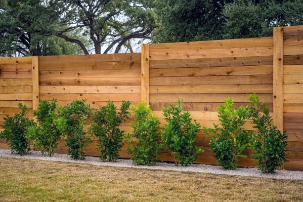 Top 50 Best Privacy Fence Ideas - Shielded Backyard Designs