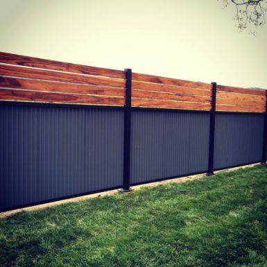 60 Cheap DIY Privacy Fence Ideas - Wartaku.net