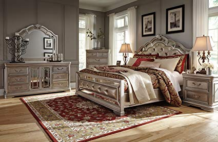 Amazon.com: Ashley Birlanny Bedroom Set (6-PC Queen Bedroom Set