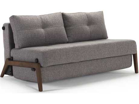 Innovation Cubed Walnut Legs Queen Size Sofa Bed | IV947440263